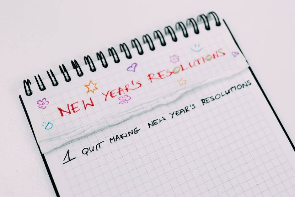How To Keep A New Year's Resolutions - 7 easy steps to developing New habits